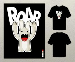 ROAR t-shirt by zmot