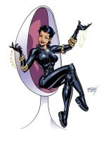 Scott Cohn - Catwoman by Club-Batman