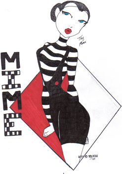 The Mime by bitemetechie