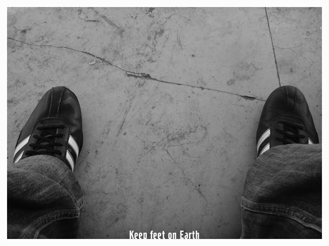 Keep Feets On Earth by GWBaten