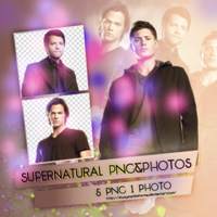 PNG Pack(47) Supernatural by AlwaysSmileForMe