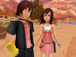Male!Kairi PREVIEW by KohakuUme6