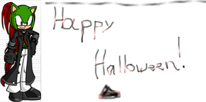 happy halloween by Exiled-From-Life