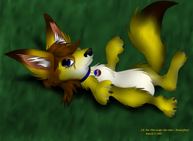 Michelle Belly Rub by Fox-under-the-stars