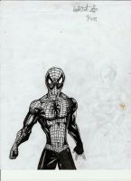 spiderman old by HaybailScott
