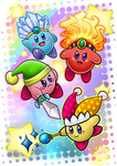Kirby and Kirby co. by Blue-Fayt