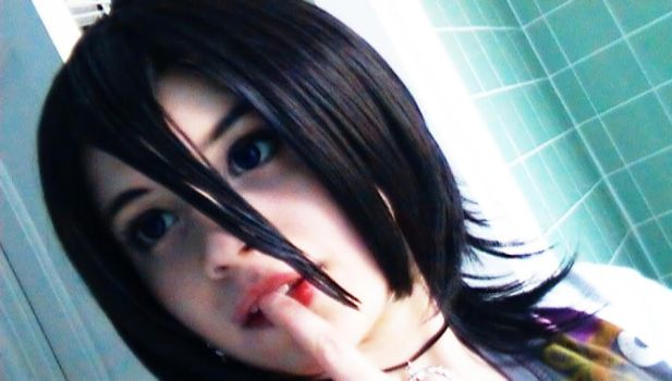 Rukia wig and contacts by Heidirae1