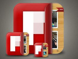 FlipBoard icon by turnpaper
