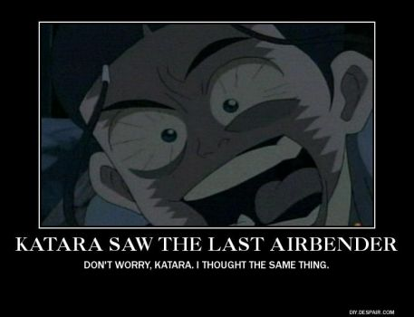 The Last Airbender Demotivational by jessid13