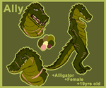 Ally the Alligator by Mrchocolate0