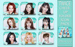TWICE- CHEER UP Folder Icon Pack by SNSDraimakim