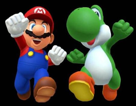 Mario and Yoshi thank you Snober by DANIOTHEMAN