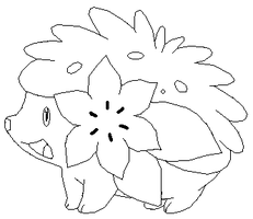 Shaymin base by thecat1313