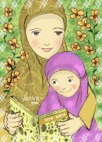 mother and child by 05yanwa