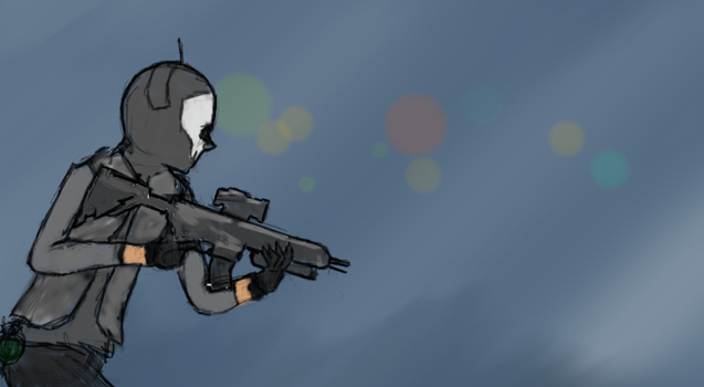 Call of Duty Ghosts by TheDefiantBisharp