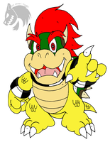 Kid Bowser by Chibi-Tediz