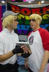 Bro shows Dave what Doujin is all about by NitsukuCosplay