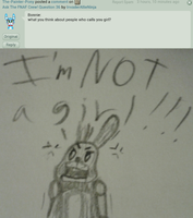 Ask The FNAF Crew! Question 56 by InvaderAllieNinja