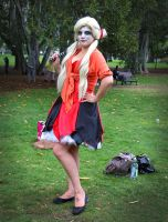 Harley Quinn Cosplay - Own Design 2 Full length by heidzdee818
