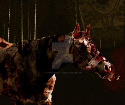 Silent Hill 3- Carousel by Autopsyrotica-Art