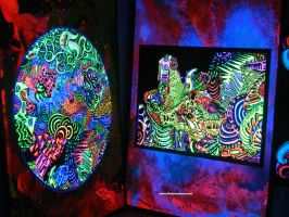 Serie Zooides(UV Drawings) by fluorencia