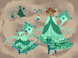 Catkin :: Jade :: (CLOSED) by RoughReaill
