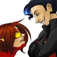 young justice: superdickery by LizCoshizzle