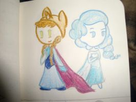 Princess Winty and Frozen Bubbles by TheMidnightRainstorm