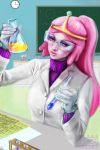 Princess Bubblegum in her lab by SYoshiko