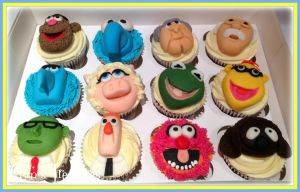 More Muppets Cupcakes by gertygetsgangster