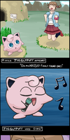 A Wild Jigglypuff Appears!! by ANewENFArtist