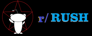 r/ Rush Logo (Star Reddit Alien) by Akriloth2160