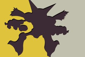 Alakazam Whose That Pokemon wallpaper by jhr921