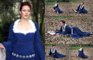 Blue maiden set by CathleenTarawhiti