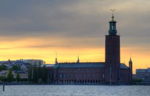 Sodermalarstrand at Sunset by HenrikSundholm
