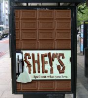 Hershey's Poster Advertisement by consine