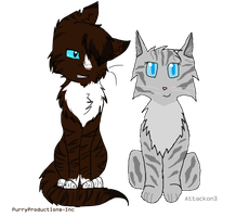 Hawkfrost x Ivypool Collab by PurryProductions-Inc