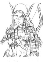 sylvanas(Line) by animator00