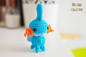 Mudkip Pokemon by MissBajoCollection