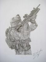 U.S. Army Ranger by RDDesign99