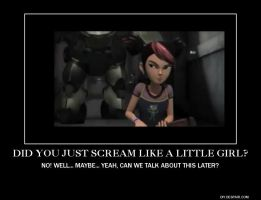 Did You Just Scream Like A Little Girl? by TheLordandtheRing