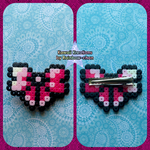 Pink Bow Clip by KoRn-sTaR60291