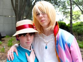 Sophie and Howl by GrumpyCosplay