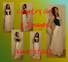 Renaissance Country Girl 2 by kime-stock