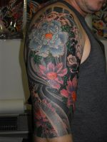 japanese half arm by OldSchoolAdorned