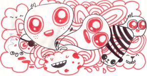 Red Eyed Buggers by collabo8
