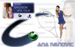 Ana Ivanovic Wallpaper by GetsuneProject