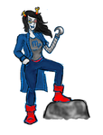 Vriska (again) by Sun-on-a-String