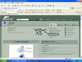 OMG Almost 2,000 pageviewsXD by Herure
