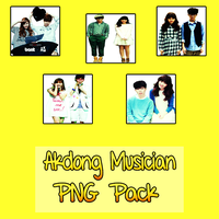 Akdong Musician PNG Pack [AKMU] by kpopperhere